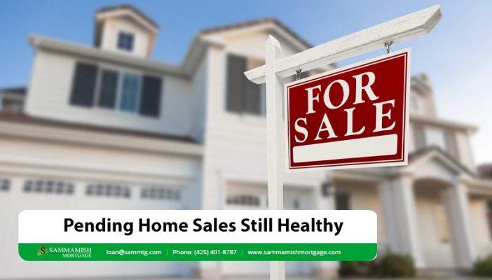 pending sales healthy