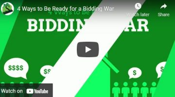 4 Ways to Be Ready for a Bidding War