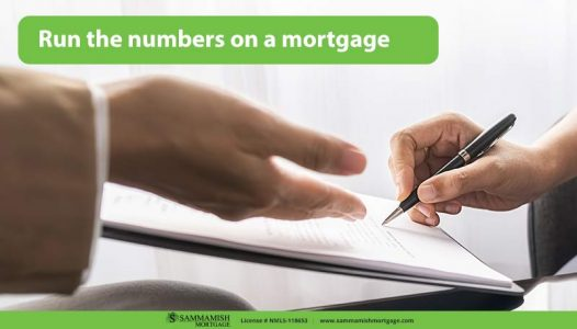 Run the numbers on a mortgage