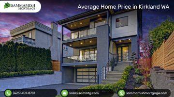 Average Home Price in Kirkland WA