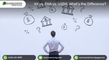VA vs. FHA vs. USDA What's the Difference?