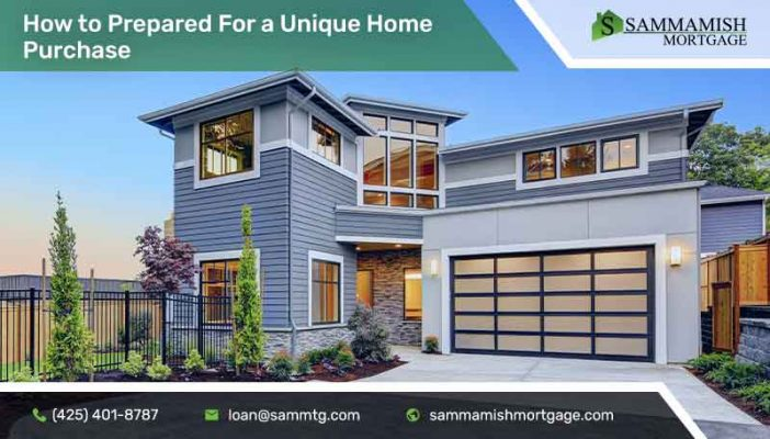 Be Prepared For A Unique Home Purchase